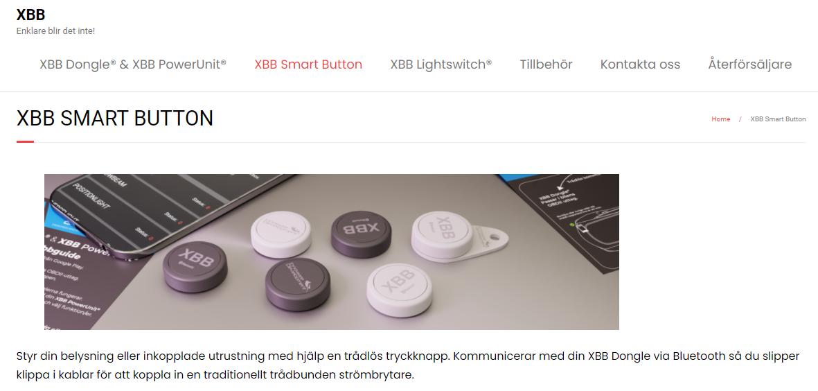 XBB Smart Button